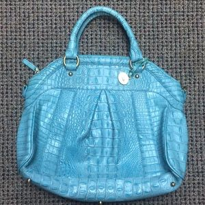 Brahmin teal bag